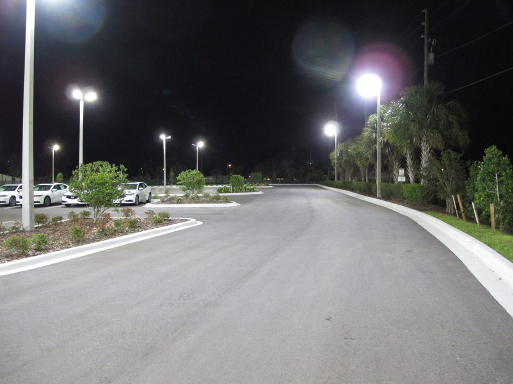 LED Lighting for Car Dealership in Clearwater, Florida