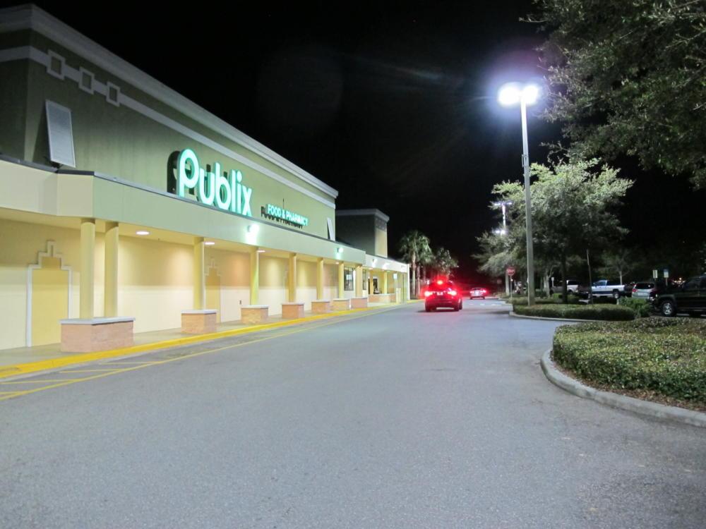 LED Lighting at Publix Shopping Center